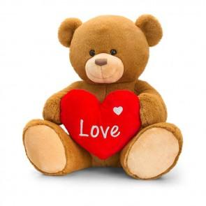Henry bamse med kærlighed hjerte